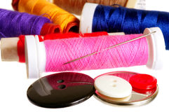 Sewing Stuff Royalty Free Stock Photo