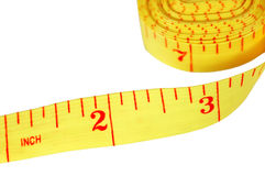 Sewing Tape Measure. Tailors measuring tape for sewing Stock Photo