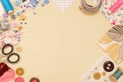 Sewing theme Stock Photo