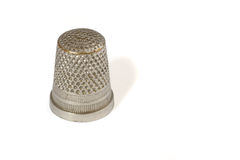 Sewing thimble Stock Photo