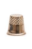 Sewing thimble isolated. On the white background Stock Image