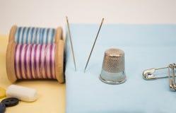 Sewing thimble Royalty Free Stock Image