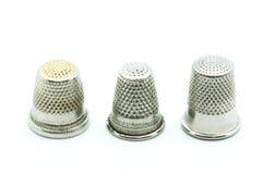 Sewing thimble Royalty Free Stock Photo