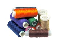Sewing thread. Royalty Free Stock Images