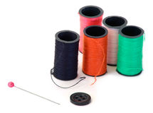 Sewing Thread Royalty Free Stock Photos