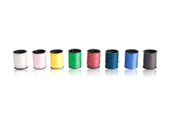 Sewing thread colorful Stock Photos