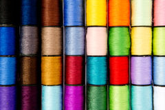 Sewing - Thread - Cotton Reels Stock Image