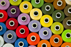 Sewing Thread Pattern. Colorful Sewing Thread Pattern Royalty Free Stock Image