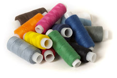 Sewing thread pile Royalty Free Stock Photography