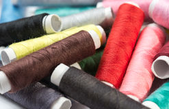 Sewing Thread pile Royalty Free Stock Photos