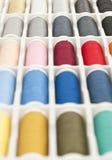 Sewing thread spools Stock Photos
