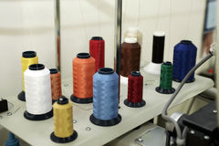 Sewing Thread Spools Royalty Free Stock Photography