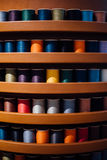 Sewing thread spools Royalty Free Stock Images