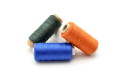 Sewing thread of various colors Royalty Free Stock Image