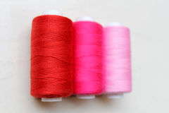 Sewing threads as a multicolored background Royalty Free Stock Photography