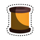 Sewing threads isolated icon Stock Photography