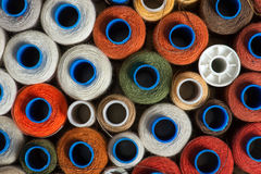 Sewing threads Stock Image