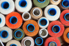 Sewing threads Stock Photos