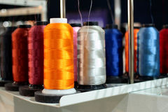 Sewing threads Royalty Free Stock Image
