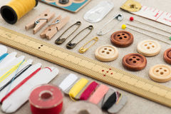 Sewing tool Royalty Free Stock Photo