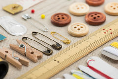 Sewing tool Royalty Free Stock Image