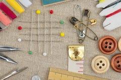 Sewing tool Royalty Free Stock Photos