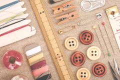 Sewing tool Royalty Free Stock Photography