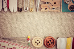 Sewing tool Royalty Free Stock Images