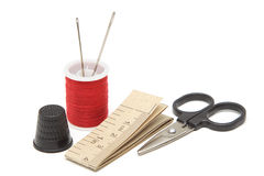 Sewing tools Stock Photography