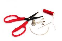 Sewing Tools Royalty Free Stock Photos