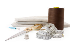 Sewing tools Royalty Free Stock Photography