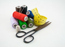 Sewing tools 33 Royalty Free Stock Images