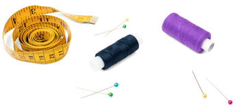 Sewing tools and accesories Royalty Free Stock Photography