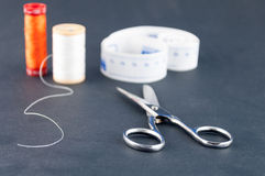 Sewing tools Royalty Free Stock Images