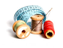 Sewing tools. Tools for sewing and handmade stock photography