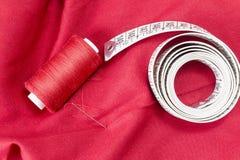 Sewing tools and sewing kit Royalty Free Stock Image