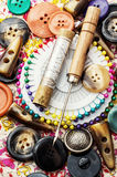 Sewing tools Royalty Free Stock Image