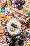 Sewing tools Stock Image