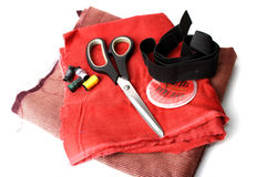 Sewing utensils Stock Photography