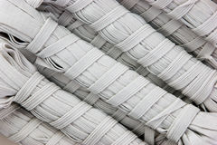 Sewing white rubber Royalty Free Stock Photo