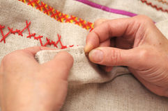Sewing Stock Image