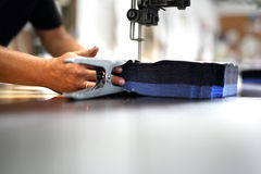 sewing work. Stock Photo