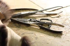 Sewing workshop Royalty Free Stock Image