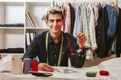 Sewing workshop Royalty Free Stock Photos