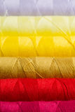 Sewing yarn spools Royalty Free Stock Photo