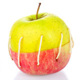 Sewn Apple Royalty Free Stock Photography