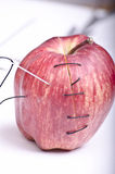 Sewn apple Stock Images