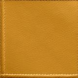 Sewn Leather. Seamless Texture Tile from Photographic Original royalty free stock photo