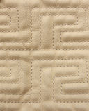 Sewn leather detail Stock Photos