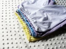 Sewn small boys shorts Stock Images